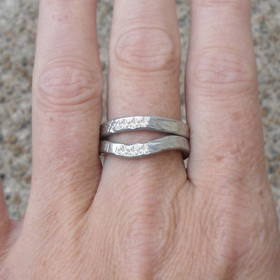 Pewter Two Become One Ring | Learn To Make Jewellery
